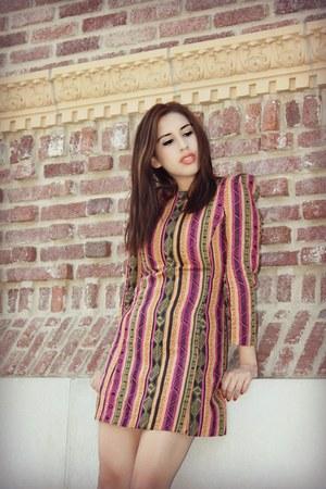 afrikan print dress