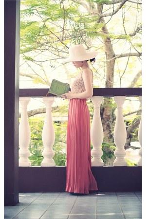 green book clutch ps Besitos bag - coral Passy Shop pants