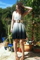 bardot dress - Bleeker St Belts belt - Wittner shoes