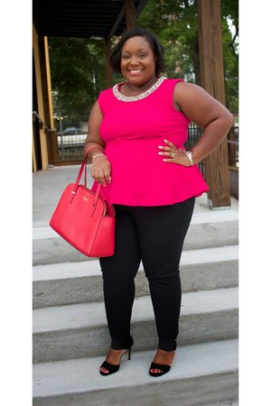 kate spade bag - Old Navy pants - new look blouse