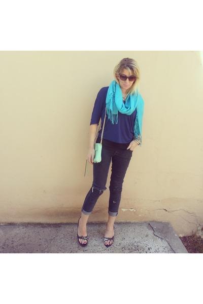 Rebecca Minkoff bag - Forever New blouse
