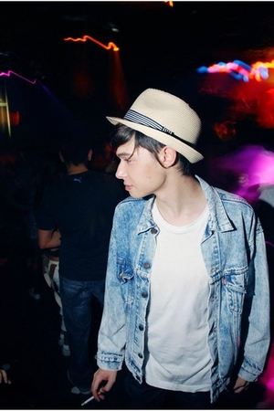 jacket - hat