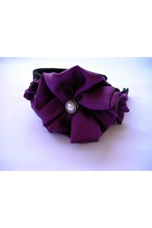 purple accessories - purple