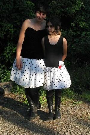 black dress - black dress