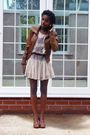 Topshop-dress-new-look-jacket-asos-shoes-topshop-earrings-vintage-bag