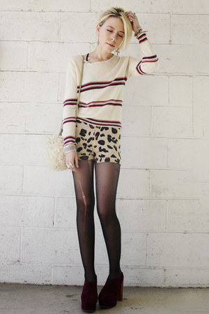 Jeffrey Campbell shoes - Urban Outfitters shorts