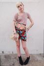 Ivory-furry-vintage-bag-light-pink-alternative-apparel-t-shirt-turquoise-blu