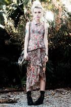 bubble gum Olive Clothing dress