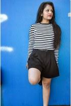 Zara sweater - Forever 21 shorts