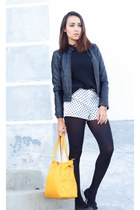 Lefties jacket - Lefties sweater - Stradivarius bag - Lefties shorts