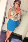 Gap-shirt-smart-set-skirt