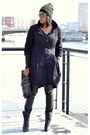 Deep-purple-31-phillip-lim-boots-black-trench-chilli-pepper-coat