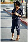 Zerouv-sunglasses-black-zara-sandals-navy-h-m-jumper