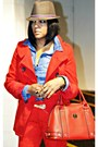 Red-grane-jacket-blue-denim-h-m-shirt-red-zara-pants