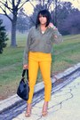 Army-green-shirt-mustard-j-crew-pants