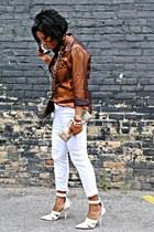 calvin klein shirt - Guess jeans - Alexander Wang pumps