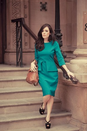 petite peplum Jeetly dress
