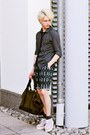 Gray-zara-shirt-army-green-h-m-bag-dark-gray-h-m-shorts