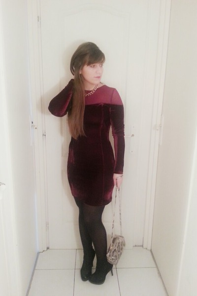 velvet Choies dress