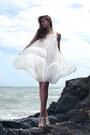 White-h-m-dress