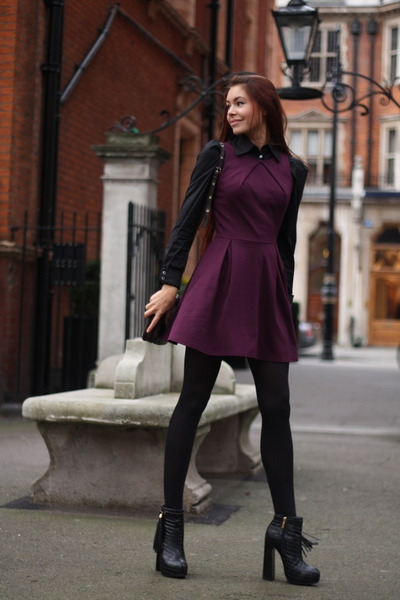 magenta Love dress