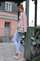 Zara jacket - J Brand jeans