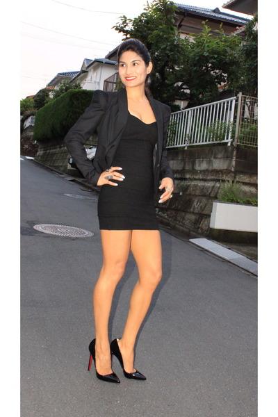 Black Akiko Ogawa Blazers Black Stolen Girlfriends Club Dresses