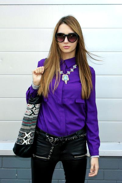 Elf Sack shirt - Billabong bag - asos sunglasses