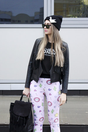 PINPILLS accessories - Asos x Pheney Pet leggings - H&M bag