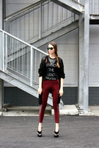 Ray Ban sunglasses - H&M pants