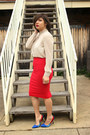 F21-diy-shirt-windsor-skirt-aldo-pumps