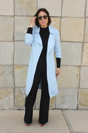Forever 21 jacket - Forever 21 top - Charlotte Russe pants