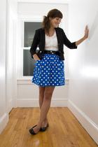 handmade skirt - Forever 21 blazer - Target blouse