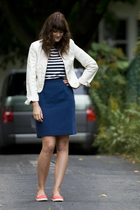 jacket - skirt - shirt