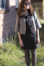 jacket - dress - shoes