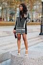 White-sergio-rossi-shoes-black-h-m-jacket-maroon-celine-bag