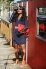 Navy-double-breasted-venus-dress-red-quilted-leather-kate-spade-bag