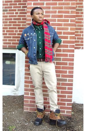 Gap jacket - Gap scarf - Gap shirt - banana republic belt - Levis jeans - LL Bea