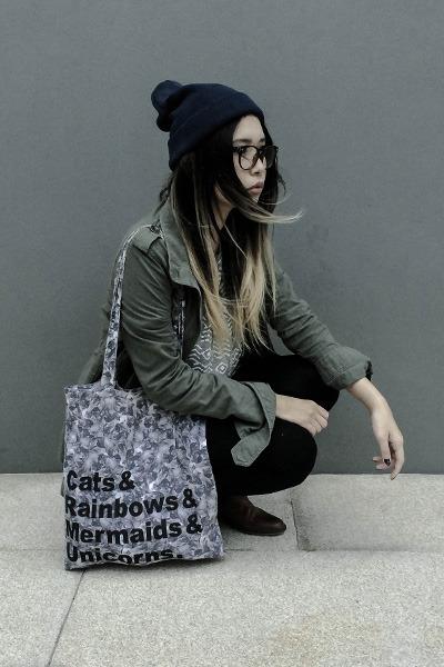 Shana jacket - leather ted baker boots - Vans hat - Vans t-shirt