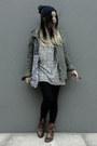 Leather-ted-baker-boots-vans-hat-shana-jacket-vans-t-shirt