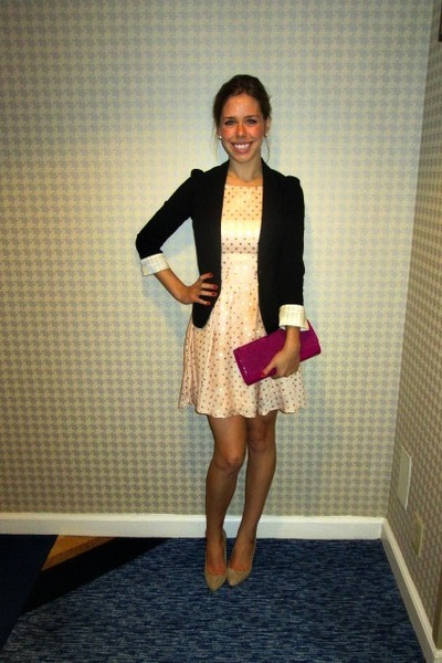 Cocktail Party Dress and Blazer
