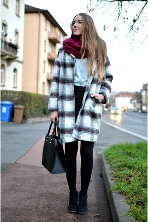 Primark coat - Tom Tailor scarf