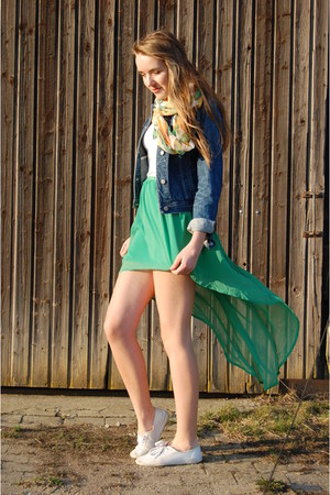 asymmetrical no name skirt