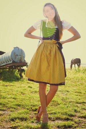 dirndl Hallhuber dress - Mango heels