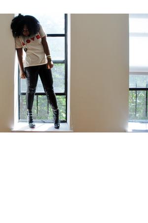 H&M leggings - Gasd t-shirt
