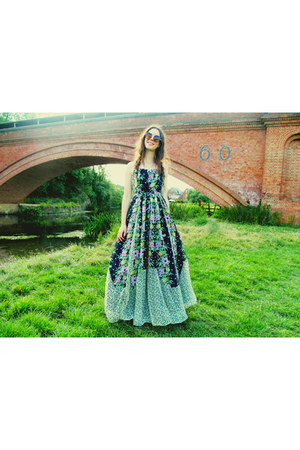 Waiste necklace - maxi floral French Connection dress