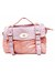 light pink ostrich unknown brand bag