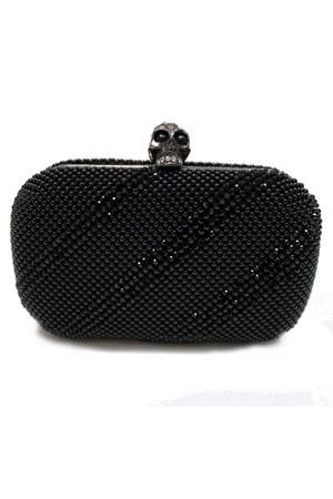 black skull unbranded bag