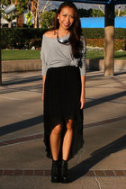 Black Mono B Skirts