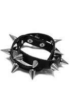 Black-spikes-unbranded-bracelet